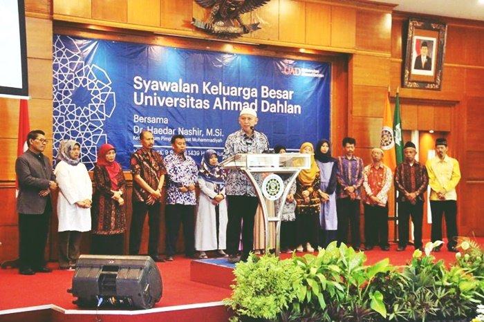 Syawalan & Pelepasan Calon Jamaah Haji Keluarga Besar UAD